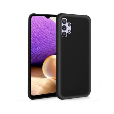 Funda Silicona Samsung Galaxy A32 5G A326 Negro