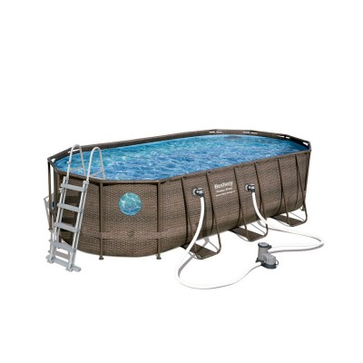 Pool Bestway 56716 549x274x122 cm w/Water Pump
