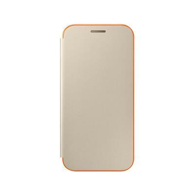 Original Neon Flip Cover Case Samsung Galaxy A3 2017 Gold (EF-FA320PFE)