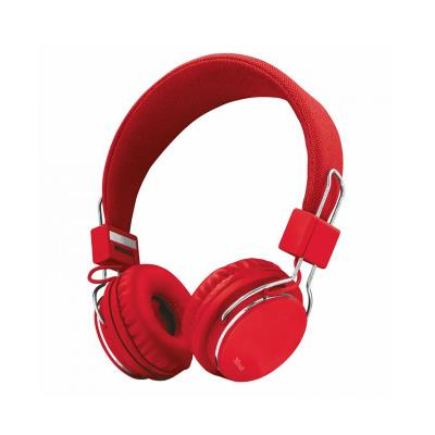 Auriculares Trust Ziva Foldable Rojo