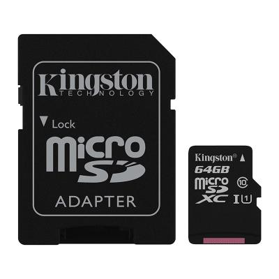 KINGSTON TARJETA DE MEMORIA SD DE 16 GB MICRO CLASE 10 HC1