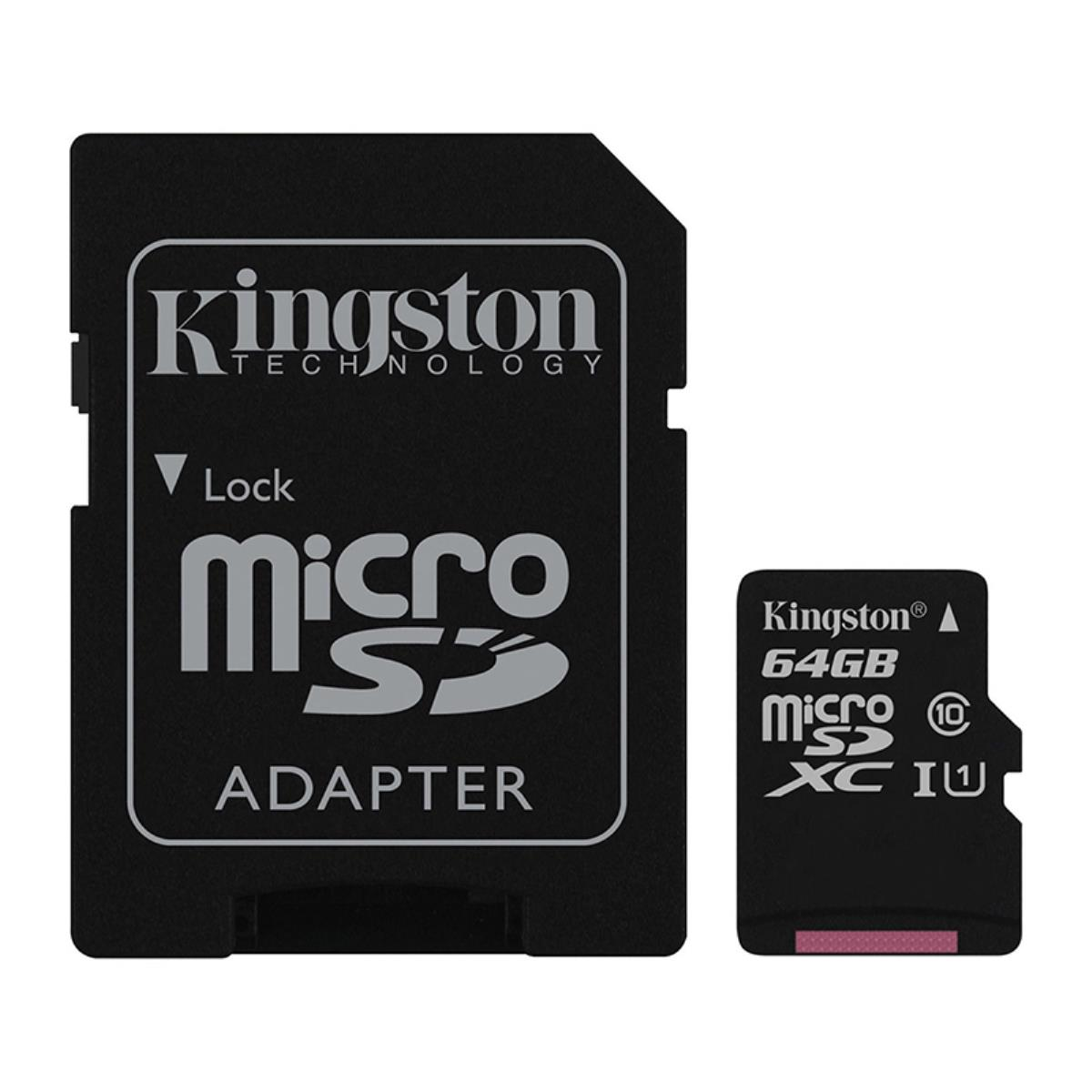 CARTÃO MEMÓRIA KINGSTON 16GB MICRO SD HC1 CLASS10