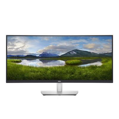 "Monitor Curvo Dell 34"" IPS WQHD 60Hz Cinzento (P3421W)"
