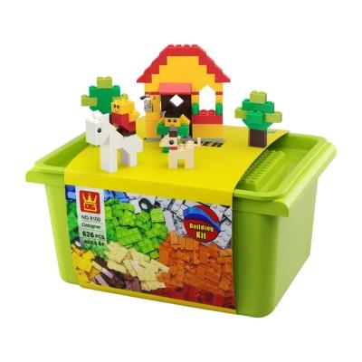 Conjunto de Blocos Designer Creative Box (626 Unidades)