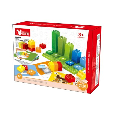 Set of Blocks Learning to Count (56 Units)