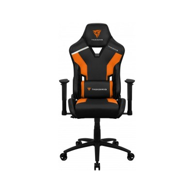 Cadeira Gaming ThunderX3 TC3 Preta/Laranja