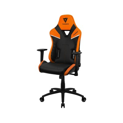 Cadeira Gaming ThunderX3 TC5 Preta/Laranja
