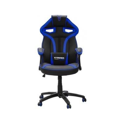 Cadeira Gaming Woxter Stinger Station Alien Preta/Azul