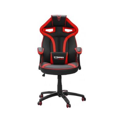Cadeira Gaming Woxter Stinger Station Alien Preta/Vermelha