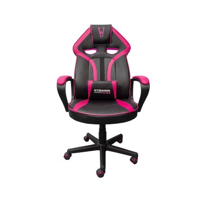 Cadeira Gaming Woxter Stinger Station Alien Preta/Rosa