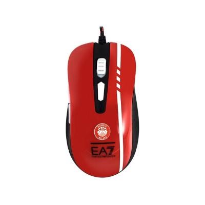 Rato Gaming Mars Gaming MMEA7 3200 DPI RGB Vermelho