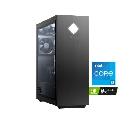Desktop OMEN 25L i5-10400 GTX 1660 SUPER SSD 256GB+1TB/16GB Black