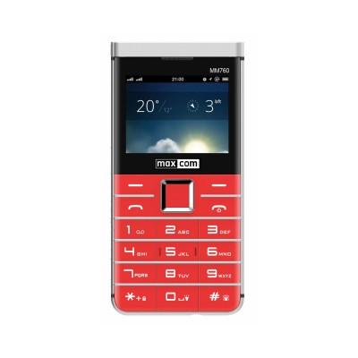 Maxcom Comfort MM760 Dual SIM Red