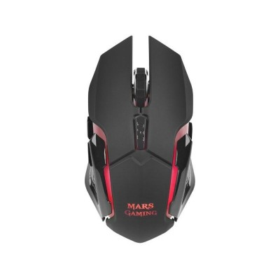 Wireless Gaming Mouse Mars Gaming MMW 3200 DPI RGB Black