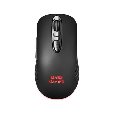 Wireless Gaming Mouse Mars Gaming MMW2 3200 DPI RGB Black