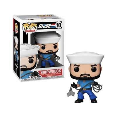 Funko Pop GI Joe Shipwreck