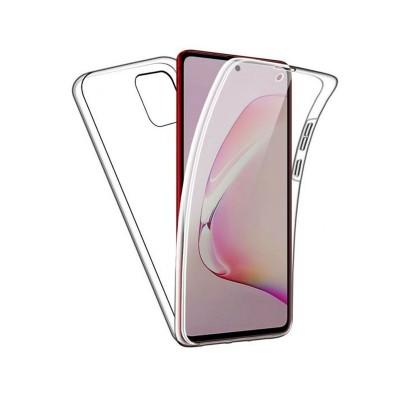 Capa Silicone Frente e Verso Samsung Galaxy M31S M317 Transparente