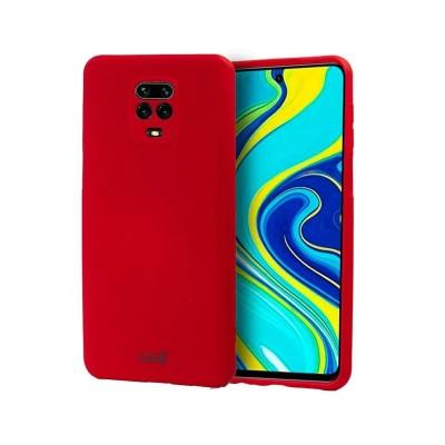 Capa Silicone Xiaomi Redmi Note 9S/9 Pro Vermelha
