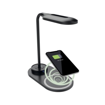 Desk Lamp KSIX Wireless 10W Black