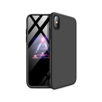 Capa Proteção 360º GKK iPhone XR Preta