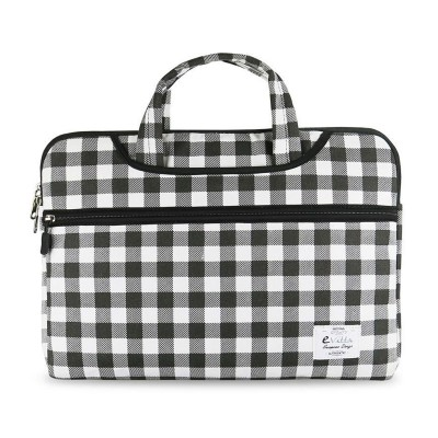 "Laptop Bag e-Vitta 13.3"" Black/White"