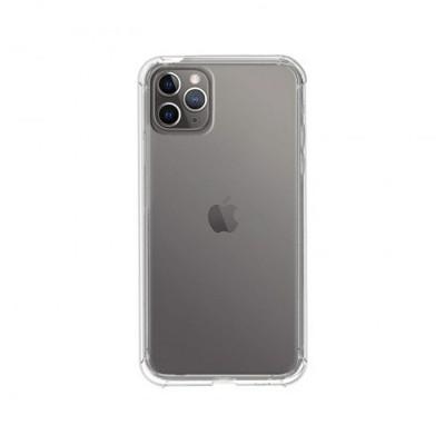 Silicone Cover iPhone 11 Pro Matt Transparent