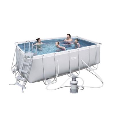 Pool Bestway 56457 412x201x122 cm w/Water Pump