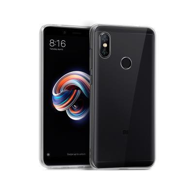Funda Silicona Xiaomi Redmi Note 5/Note 5 Pro Transparente