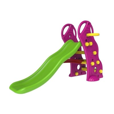 Slide w/Basketball Basket Purple