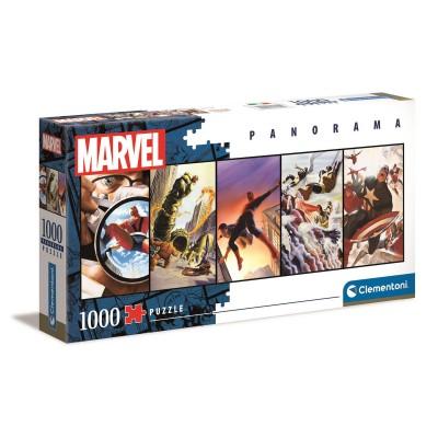 Puzzle Marvel Super Heróis Panorama 1000 Peças