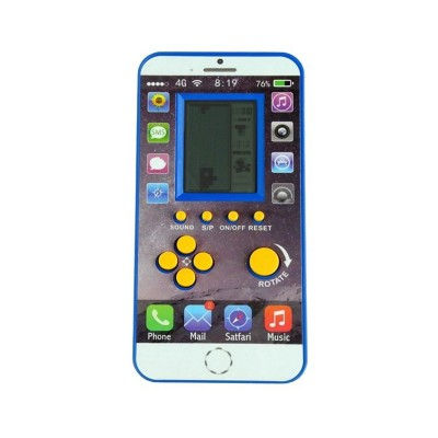 Consola Retro Tetris Azul
