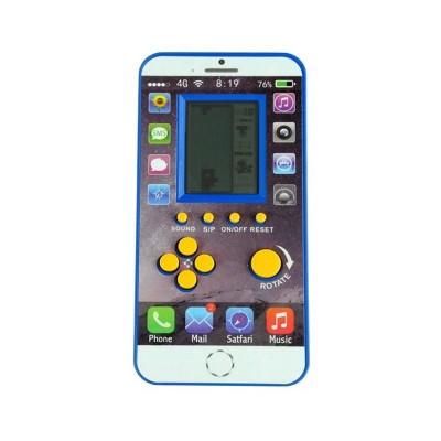 Console Retro Tetris Blue