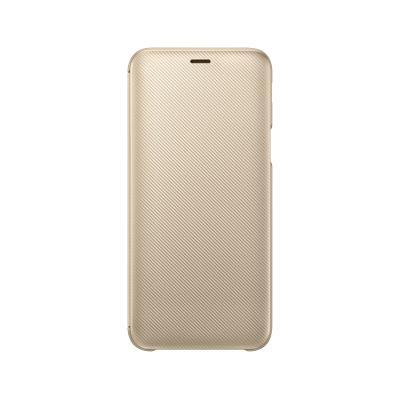 Capa Flip Wallet Original Samsung J6 2018 Dourada (EF-WJ600CFE)