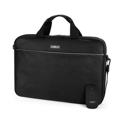 """Laptop Bag + Mouse USB Subblim Select Pack 15.6"""" Black"""
