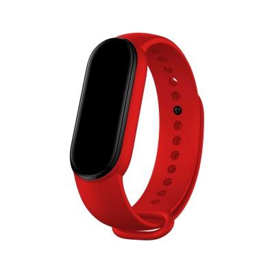 Silicone Bracelet Xiaomi Mi Band 5 Red