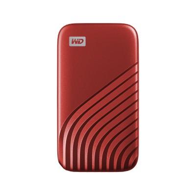 Disco Externo Western Digital My Passport SSD 500GB USB 3.2 Vermelho