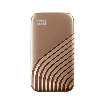 Disco Externo Western Digital My Passport SSD 500GB USB 3.2 Dourado