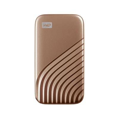 External Hard Drive Western Digital My Passport SSD 1TB USB 3.2 Gold