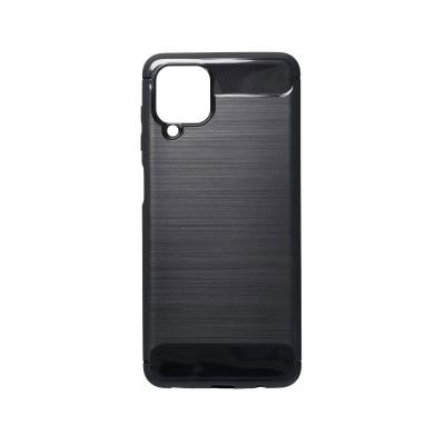 Capa Silicone Forcell Samsung Galaxy A12 A125 Carbon Preta