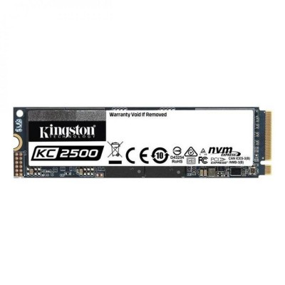 Disco SSD Kingston KC2500 1TB 3D TLC M.2 2280 NVMe