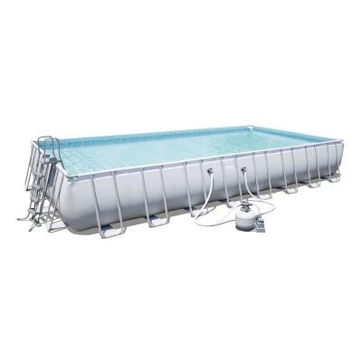 Pool Bestway 56623 Power Steel 956x488x132 cm w/Water Pump