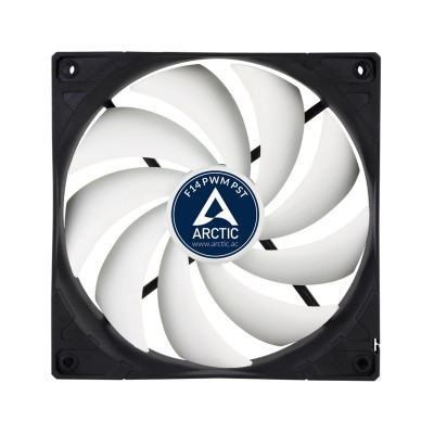 Fan Arctic Cooling F14 PWM PST 1350RPM 140mm Black/White