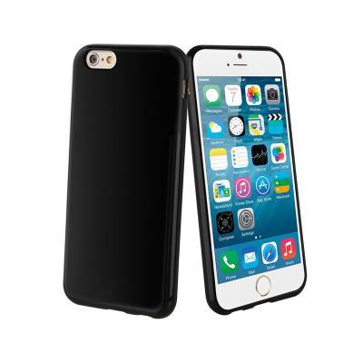 Capa Silicone iPhone 6/6S Preta