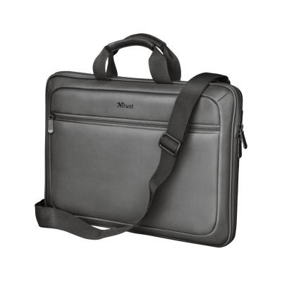 """Laptop Bag Trust York Hardcase Sleeve 13-14"""" Black"""