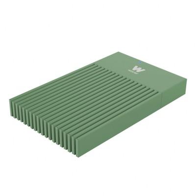 """Caixa Externa Woxter I-Case 230B 2.5"""" USB 3.0 Verde"""