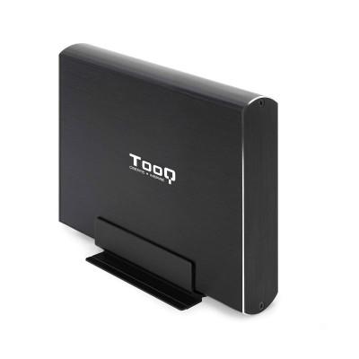 """Caja Externa TooQ TQE-3531B 3.5"""" USB 3.1 Negro"""
