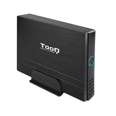 """Caja Externa TooQ TQE-3530B 3.5"""" USB 2.0 Negra"""