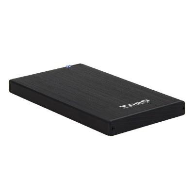 """Caja Externa Tooq TQE-2527B 2.5"""" USB 3.1 Negra"""