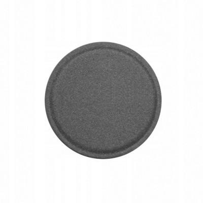 Placa Metal em Pele c/Adesivo para Suportes Magnéticos 40 mm