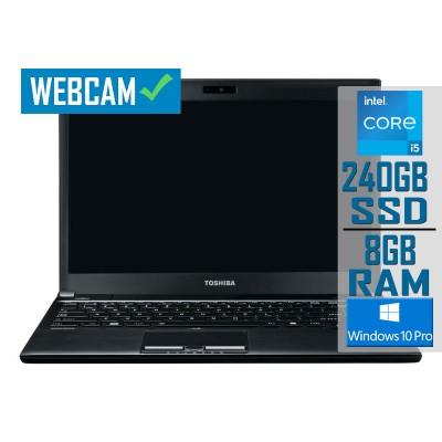 "Laptop Toshiba Tecra R950-104 15"" i5-3210M SSD 240GB/8GB Refurbished"